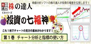株の達人CDシリーズ第1巻 チャート分析と指標の使い方